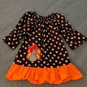 Little Girl's Turkey Dress